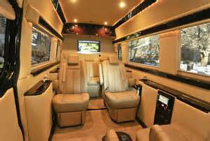 Mercedes Benz Sprint interior 2