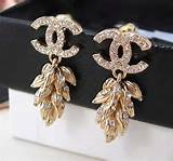 18kt gold Chanel earrings