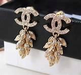 18kt gold Chanel earrings
