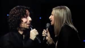 Barbra Streisand and Jason Gould Duet
