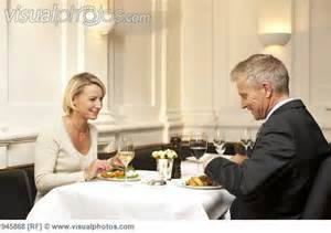 Man and Woman on Date