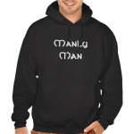 Manly Man Celtic Lion Non Humor Hoodie