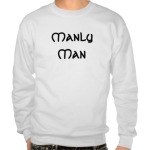 Manly Man Celtic Lion Non Humor Sweatshirt