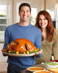 Thanksgiving couple