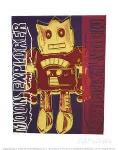 Andy Warhol robots