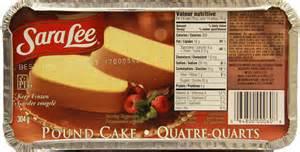 Sara Lee Pound Cake