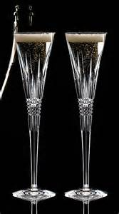 Waterford Lismore Diamond Toasting Flutes