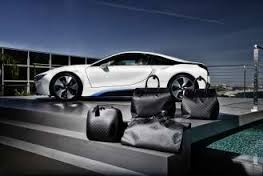 BMW LV Carbon Fiber Luggage