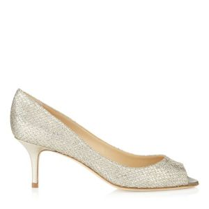 Jimmy Choo wedding shoe 2015