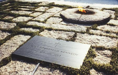 President John F Kennedy Eternal Flame