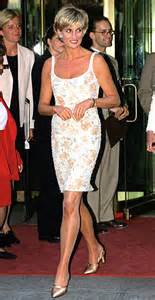Princess Diana wearing Jimmy Choo
