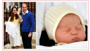 William and Kate and new baby