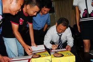 Yan Jiehe book signing