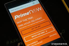 Amazon Prime app