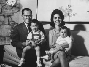 Conrad Hilton and Family