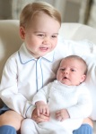 HRH Baby Louie and HRH Baby Charlotte by Duchess of Cambridge
