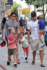 Matt Bormer with Family