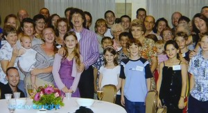 Mick Jagger with Family