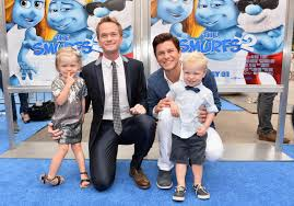 Neil Patrick Harris with Family