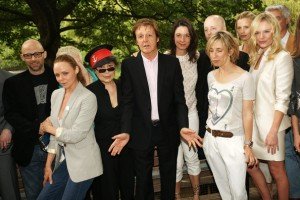 Paul McCartney with Family