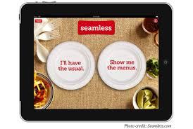 Seamless Restaurant app