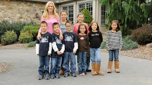Kate Gosselin with children