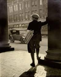 News Boy 1920