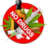 No alcohol no drugs