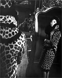 Barbra Streisand leopard