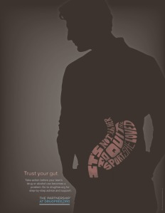 pdfa-drug-free-trust-your-gut-man-ad