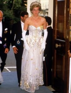 Princess Diana ballgown 2013