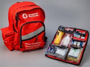 Emergency Kit by Red Cross