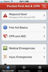 First Aid Emergency App