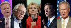 Democratic Candidates 2015