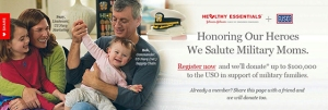 Johnson and Johnson Healthy Essentials Veterans Day