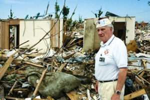 Joplin_Charley with VFW Disaster Relief