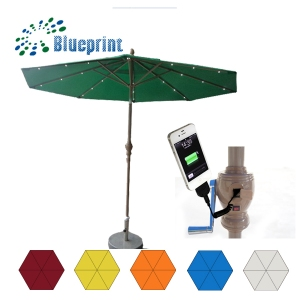 new_invention_garden_patio_solar_charge_umbrella