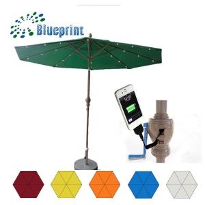 new_invention_garden_patio_solar_charge_umbrella