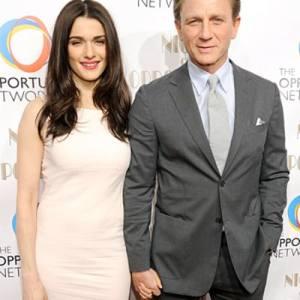 Daniel and Rachel Craig