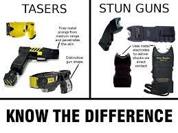 Taser vs Stun Gun