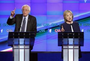 Hillary vs Bernie