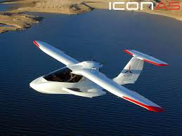 Icon A 5 private jet