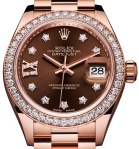 Lady Datejust Rolex 2016 rose gold