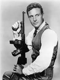 Robert Stack as Eliot Ness