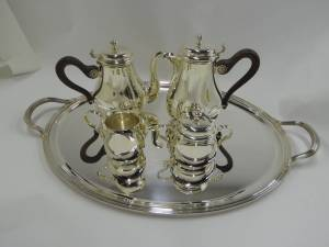 Christofle Sterling Silver Tea Service
