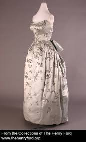Elizabeth Parke Firestone Vienna Opera House Dress 1955