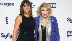 Melissa Rivers with Mom Joan