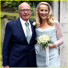 Rupert Murdoch Jerry Hall wedding