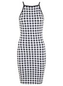 90's gingham mini dress