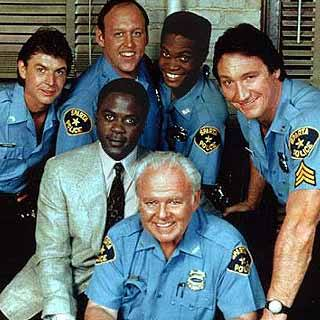 Caroll OConnor and Crew In The Heat Of The Night